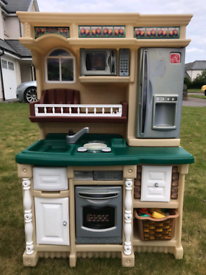 Toy Kitchen with multiple accessories