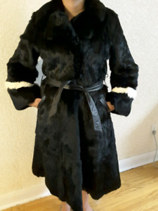 ☆☆☆Beautiful Retro Style Rabbit & Mink Fur Coat!!! $400 OBO☆☆☆