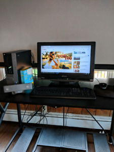 2014 Dell optiplex 7010 sff/monitor/keyboard/mouse