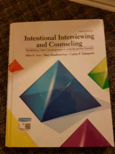 Intentional Interviewing and Counselling Text book (Hardcover)