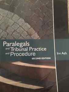 Paralegals and Tribunal Practice and Procedure