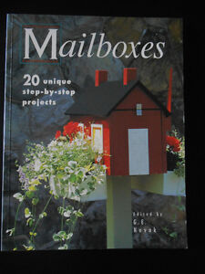 MAILBOXES CRAFT BOOK - 20 UNIQUE PROJECTS