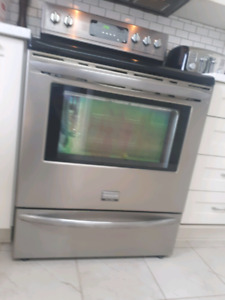 Frigidaire Galley Stainless Stove - Sold PPU