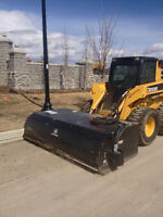 ***Parking lot sweeping, post holes, sod replacement***