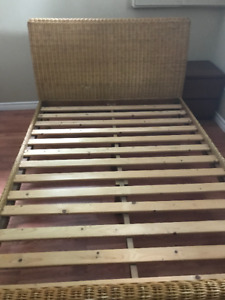 Wicker Bed For Sale