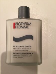 BIOTHERM HOMME - razor burn eliminator 3.38 fl oz. / 100 ml