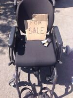 Stroller and wheel chair