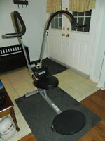 Ab Extreme Excercise machine   A Manual with various work-out op