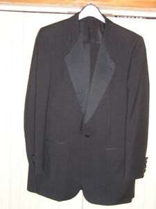 Sedgewick by Harry Rosen Lined Black Wool Tuxedo 40R Like New