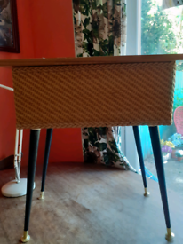 Fab make do and mend sewing box. 15 in dansette legs