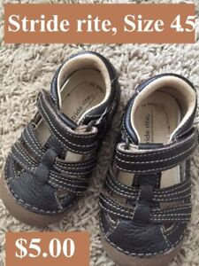 Excellent condition shoes size 4.5 (19) for 9-12 months old baby
