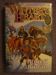 "Winter's Heart HARDCOVER: Book 9 of ""The Wheel of Time"" R Jordan"