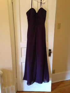 Purple Bridesmaid Gown (Long)