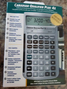 Real Estate MORTGAGE CALCULATOR - Brand new in sealed box