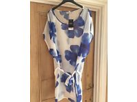 BNWT Blue & White belted tunic (16)