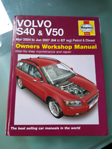Volvo V50/S60 Haynes Manual