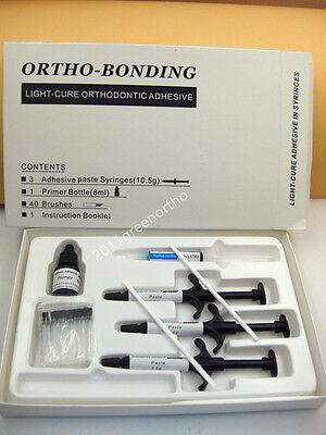 1 Set Full Package Light Cure Adhesiveorthodontic Bonding Material For Brackets