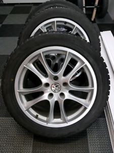 "SNOW WINTER tires VW AUDI PORSCHE 20"" ALLOY BLIZZAK"