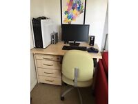 Good as new desk available!