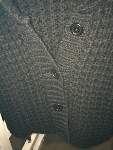 FilippaK 3/4 sleeve wool sweater. Black. West Island Greater Montréal image 4