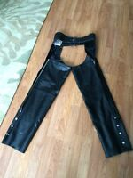 Ladies Leather Chaps - Small