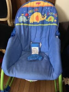 Vibrating (batteries not included) Baby Rocker/ seat