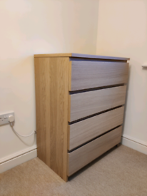 Chest of drawers, 4 drawers (SALE)
