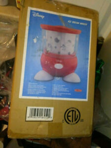 Back to Basics Disney Ice Cream Maker BNIBDouble insulated