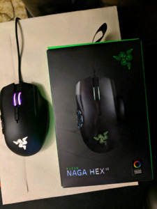 Razor Naga Hex V2  -- Gaming Mouse