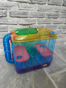 CRITTER TRAIL HAMSTER GERBIL CAGE
