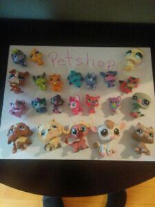 Jouets : lot de 22 Petshop à vendre.