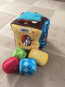 Lamaze Baby soft blocks