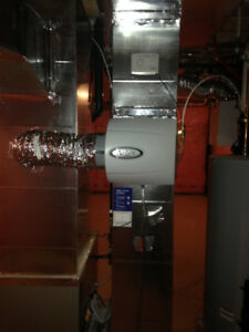 Central Whole Home Humidifier Installations