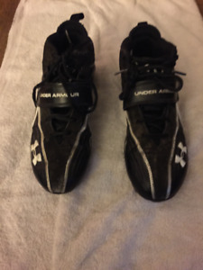 Football Cleats Shoes Size 8.5 Under Armour