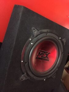 ^** MTX SLIM MOUNT PICK UP TRUCK BOX AND SUBWOOFER Kitchener / Waterloo Kitchener Area image 2