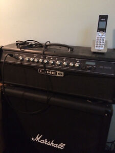 Amplificateur Line 6 Avec Cab Marshall et Footswitch line 6 MKII