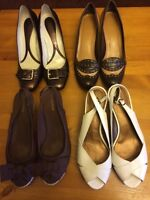Four pairs of Naturalizer Shoes - size 10