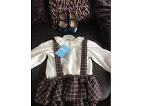 BNWT Fogue Spanish like miranda jam pants suit with next shoes