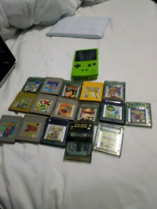 Gameboy/GBA console/games collection Pokemon Mario Medabots SALE