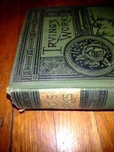 Vintage WASHINGTON IRVING Works, Alhambra etc. Arab Histories.