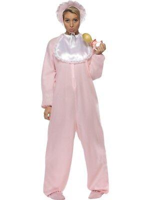 Baby Romper Adult Womens Smiffys Fancy Dress Costume