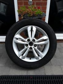 Alloy Wheel.