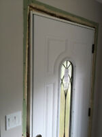 Skillful entire exterior/inter door installation service, prompt