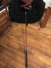 Callaway big bertha Diablo golf driver graphite shaft inc. head cover high 13.5* great for beginner