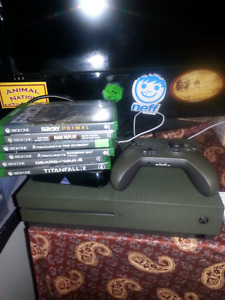 Limited Edition Battlefield 1tb Xbox One S with 7 games