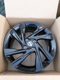 Nissan Note Tekna Black Alloys 16 Set of 4 Genuine New