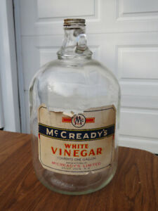 McCready's White Vinegar One Gallon Jug