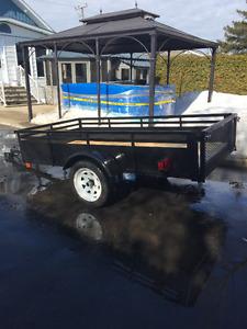 Remorque ou trailers neuffff  À bascule 51x98