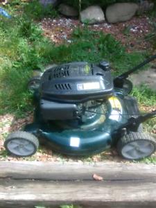 22 inch cut lawnmower