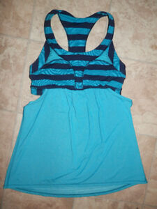 Exercise tops by Lululemon (various sizes)